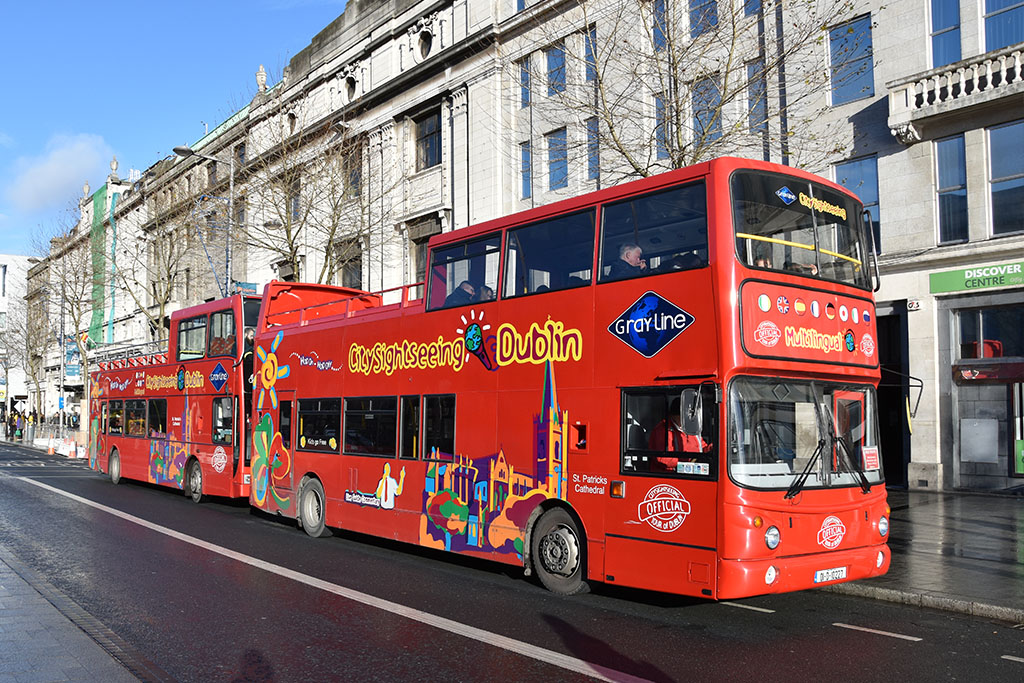Ontdek Dublin met de hop-on hop-of bussen