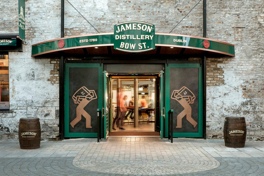 Old Jameson Whiskey distillery