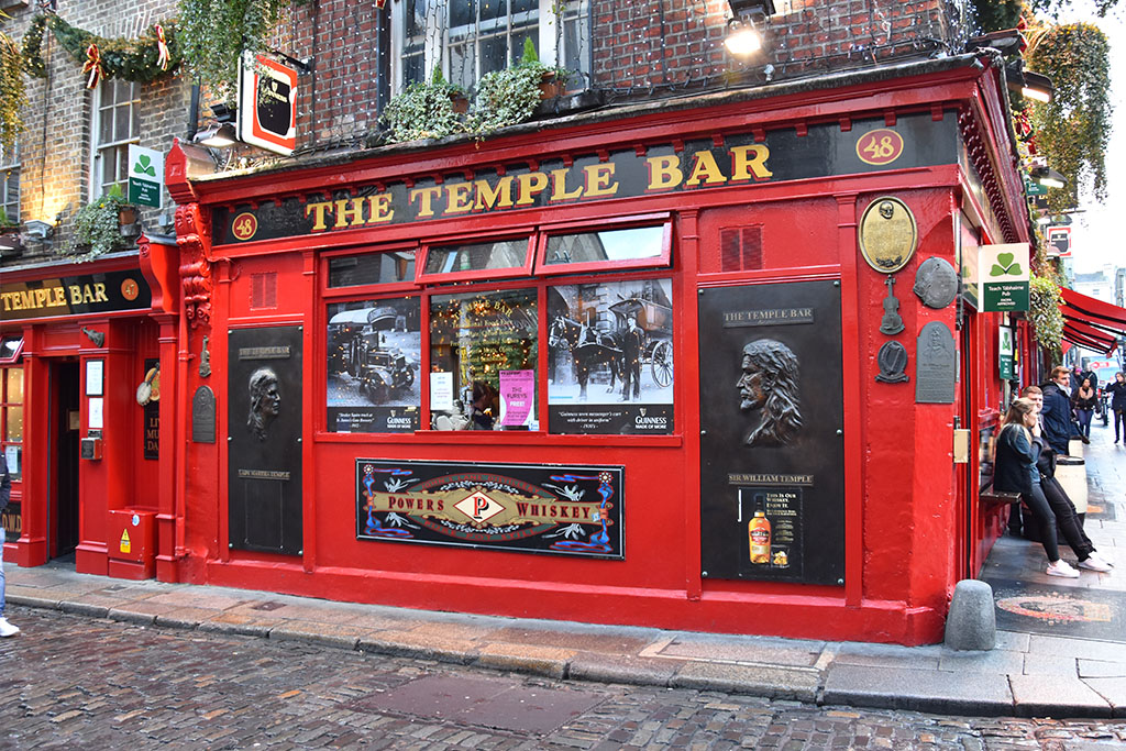 De Temple Bar in Dublin