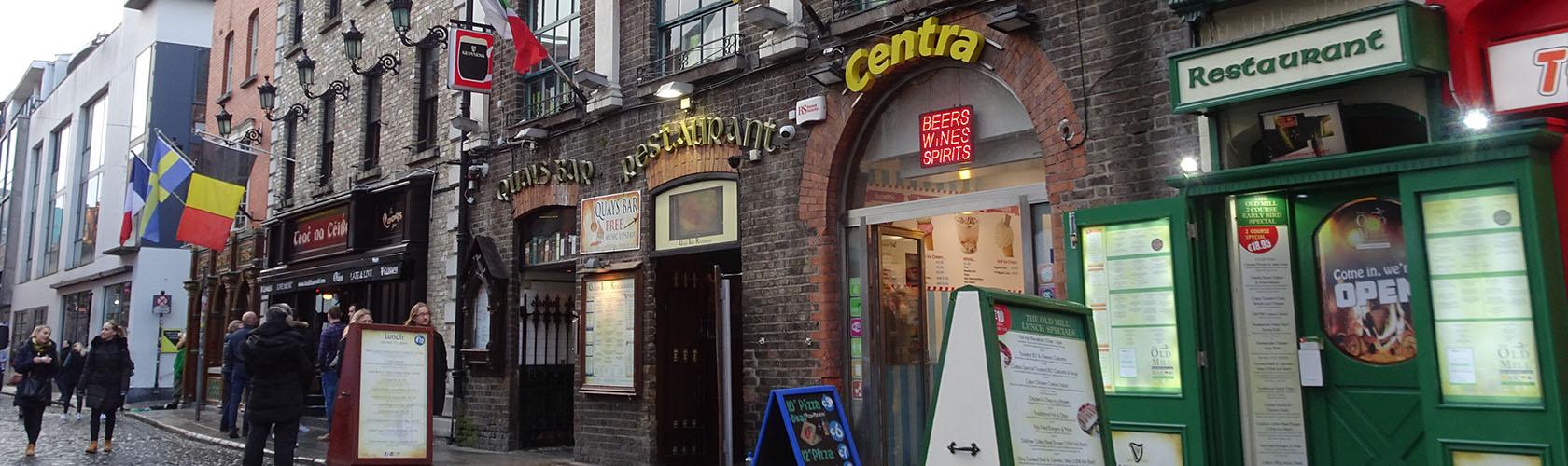 Kroegentocht in Dublin