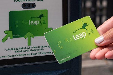 De Leap Card in Dublin - reizen met het openbaar vervoer