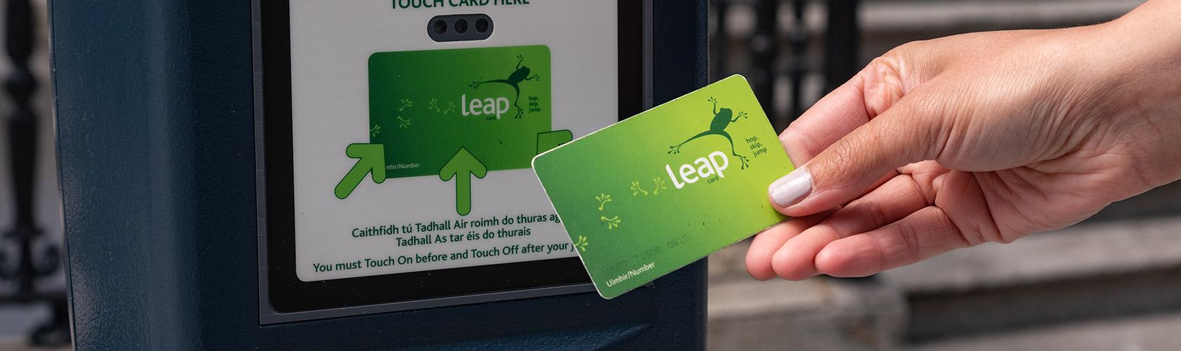 Leap Card – de OV chipkaart van Dublin