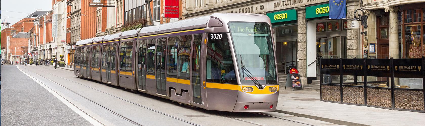 De LUAS (tramlijn)