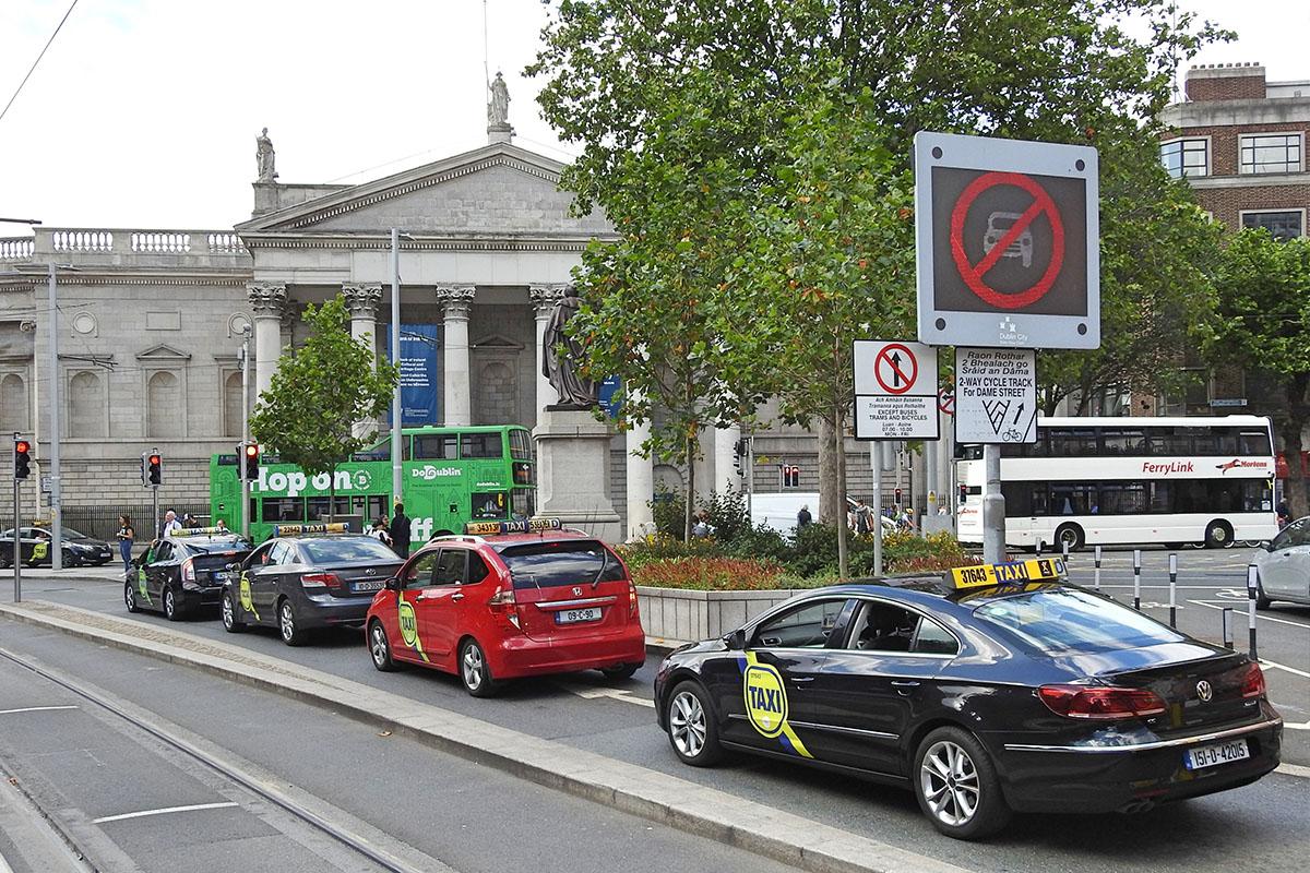 Taxis in Dublin